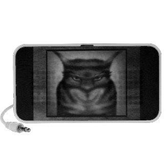 Gato siniestro iPhone altavoz