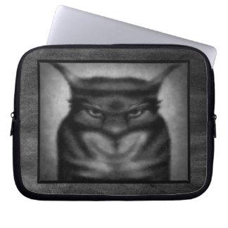Gato siniestro mangas portátiles