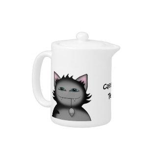 Gato sombrío del gatito