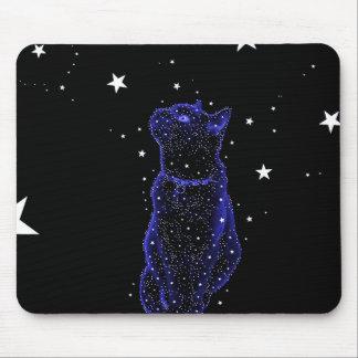 Gato Stargazing Mousepad