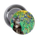 Gato (Tabby 2) - iris Pin