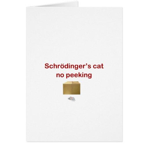 gato tarjeta de felicitación