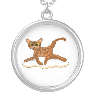Gato-Toon Colgante Redondo