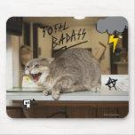 Gato total de Badass Mouse Pads