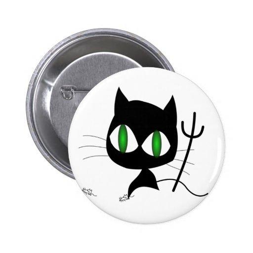 Gato travieso pin