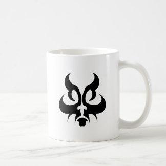Gato tribal taza de café