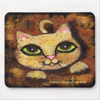 Gato urbano Mousepad del gatito Tapetes De Ratones