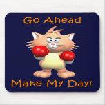 Gato - vaya a continuación hacen mi día alfombrilla de raton