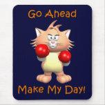 Gato - vaya a continuación hacen mi día alfombrilla de ratón