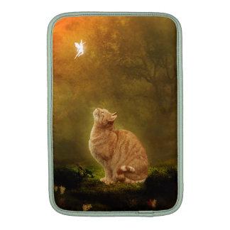 Gato y hada fundas macbook air