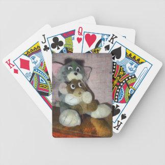 Gato y ratón baraja cartas de poker