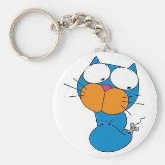 gato y ratón llavero redondo tipo pin