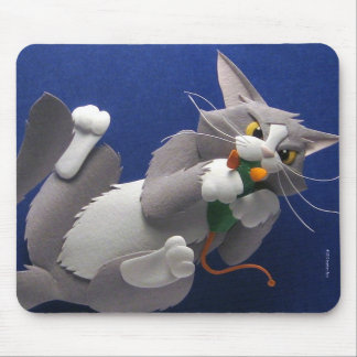 Gato y ratón Mousepad Alfombrillas De Raton