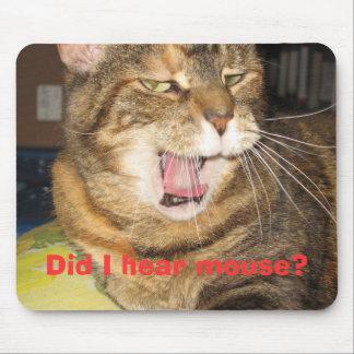¿Gato y ratón? Tapete De Raton