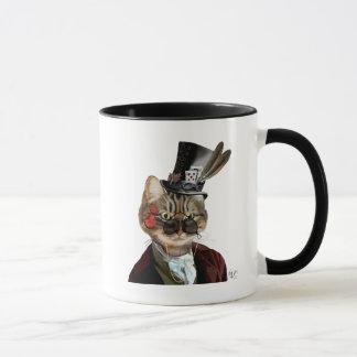 Gato y sombrero de copa felinos 2 de Phileas Taza