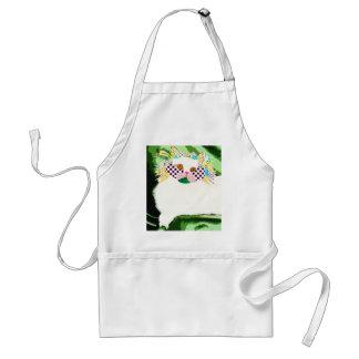 gatobranco.jpg adult apron
