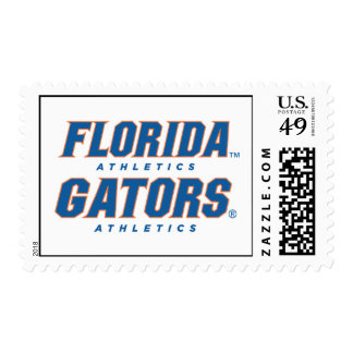 Gator Athletics Postage Stamp