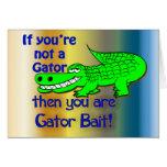 Gator Bait Greetings Greeting Card