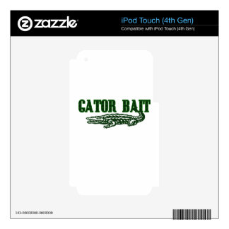 Gator Bait iPod Touch 4G Skin