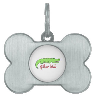 GATOR BAIT PET NAME TAGS