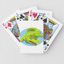 Gator Bicycle Playing Cards