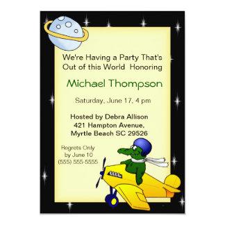 Gator Birthday Party Invitations