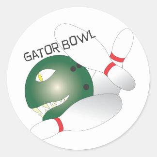 Gator Bowl.ai Classic Round Sticker