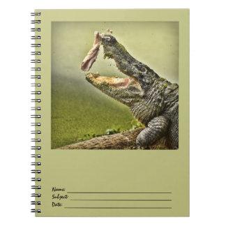 Gator Catching Lunch Spiral Notebook