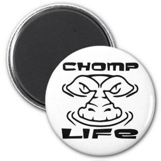 Gator Chomp Life 2 Inch Round Magnet