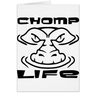 Gator Chomp Life Card