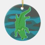 Gator Christmas Tree Ornament