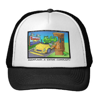 Gator Community Funny Tees Gifts & Collectibles Trucker Hat