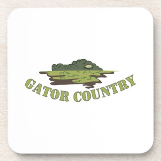 Gator Country Beverage Coasters