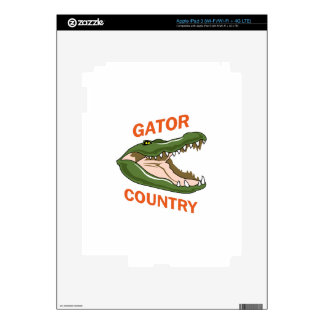 Gator Country Decal For iPad 3