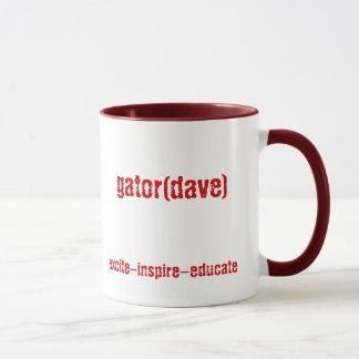 gator(dave) mug