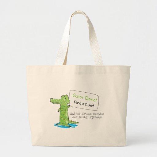 Gator Done! Jumbo Tote Bag