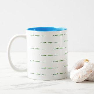 Gator Farm Two-Tone Coffee Mug