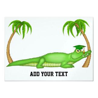 Gator Graduation - SRF 4.5x6.25 Paper Invitation Card