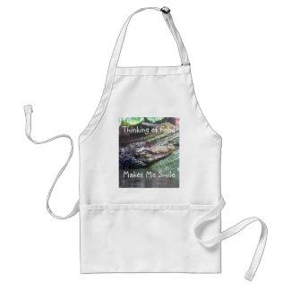 'Gator Grins: Thinking of Food - Apron apron