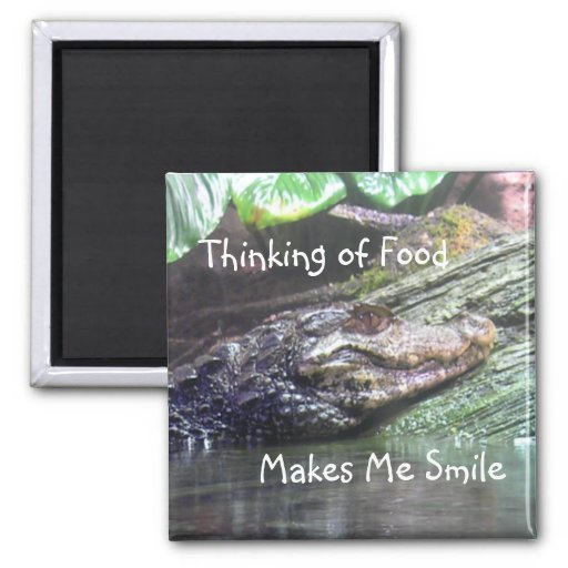 'Gator Grins: Thinking of Food - Magnet #1
