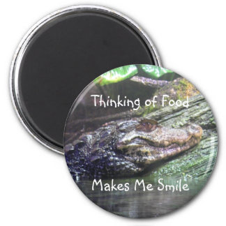 'Gator Grins: Thinking of Food - Magnet #2