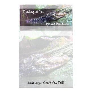 'Gator Grins: Thinking of You - Stationery