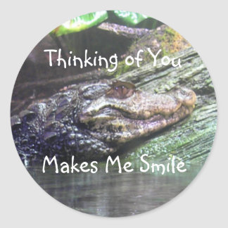 'Gator Grins: Thinking of You - Sticker