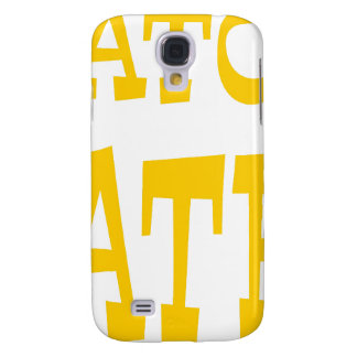 Gator Hater Athletic Gold design Galaxy S4 Case