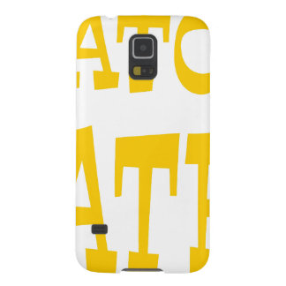 Gator Hater Athletic Gold design Galaxy S5 Case