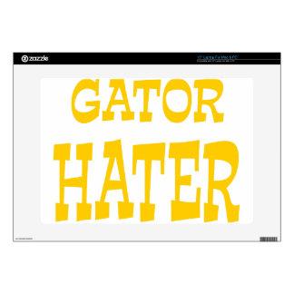 Gator Hater Athletic Gold design Laptop Skins