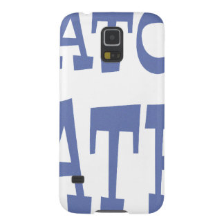 Gator Hater Baby Blue design Galaxy S5 Cover