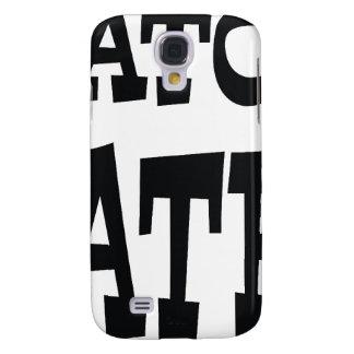 Gator Hater Black design Galaxy S4 Case
