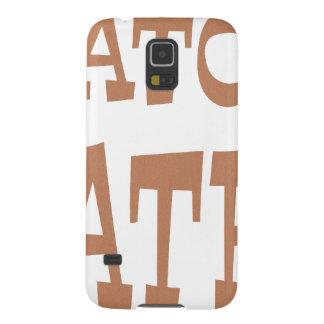 Gator Hater Bronze design Galaxy S5 Case