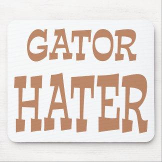 Gator Hater Bronze design Mouse Pad